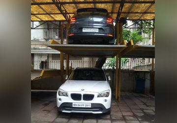 Two Pol Car Parking System