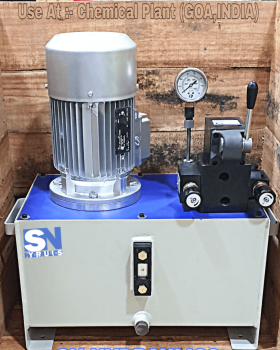 Filter Press Hydraulic Power Pack